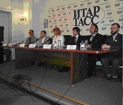 Слева направо: Иванов А.И., Минвалеев Р.С., Архипова И.В., Справа налево: Демин А.В., Васильев А.К.